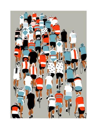 Peloton, 2013 Sports Giclee Print