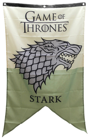 Game Of Thrones - Stark Banner Television Fabric Poster
