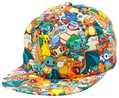 Pokemon - AOP Sublimated Cap Hat