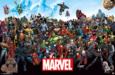 Marvel - The Lineup 15 Poster