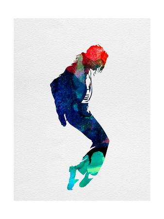 Michael Watercolor Art Print