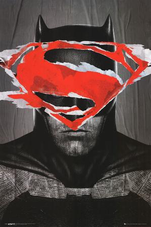 Batman Vs Superman Batman Teaser Poster