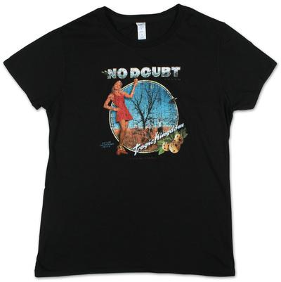 Juniors: No Doubt Tragic Kingdom - Buy this juniors (slim) t-shirt at AllPosters.com