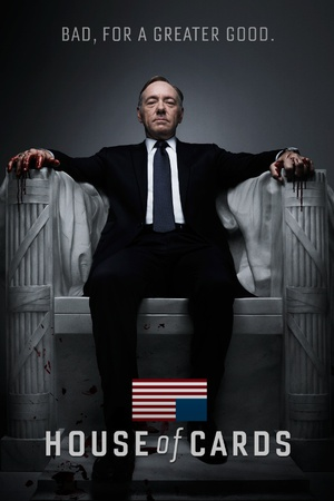 House Of Cards - Bad Television Poster