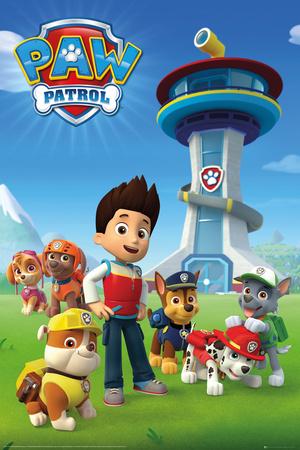 Paw Patrol Team Television Poster