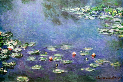 Waterlilies Affordable Art Poster