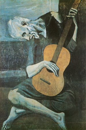 The Old Guitarist, c.1903 Posters