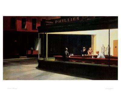 Nighthawks, c.1942 - Buy at Art.com