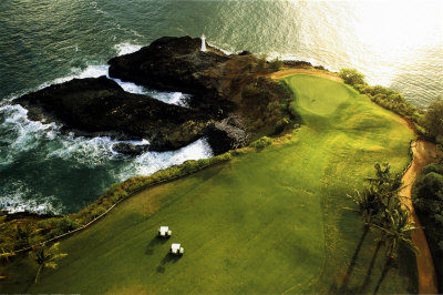 Golf Course, HawaII Coast,