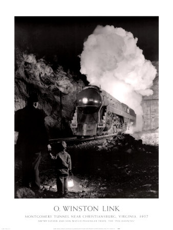 Montgomery Tunnel Near Christiansburg, Virginia, 1957,O.  Winston Link