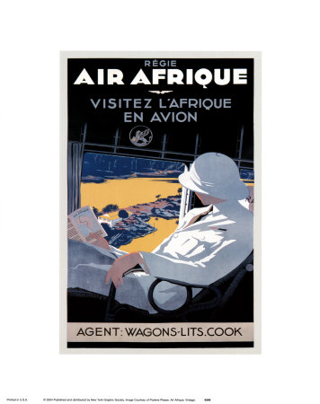 Buy Air Afrique at AllPosters.com