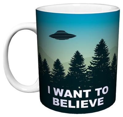I Want To Believe Mug Mug