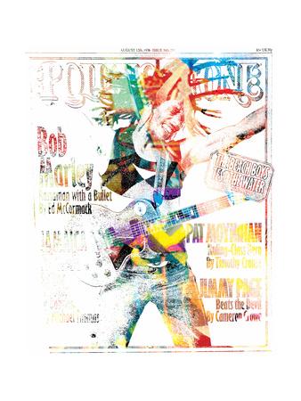 Bob Marley Issue 76 Annimo Art Print
