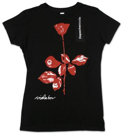Juniors: Depeche Mode- Violator Juniors (Slim) T-Shirt