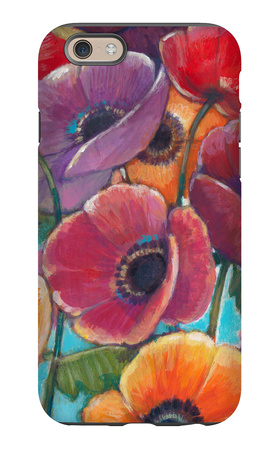 Electric Poppies 1 iPhone 6 Case