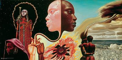 Miles Davis- Bitches Brew Album Art Affordable Art Poster
