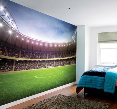 Americk fotbal plak ty na for Beaver stadium wall mural