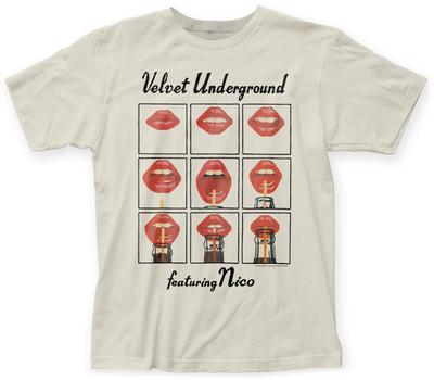 Velvet Underground- Lips Grid T-Shirt