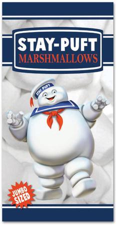 Ghostbusters - Stay Puft Marshmallow Man Beach Towel Beach Towel