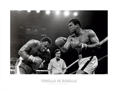 Muhammad Ali Thrilla Sports Art Print