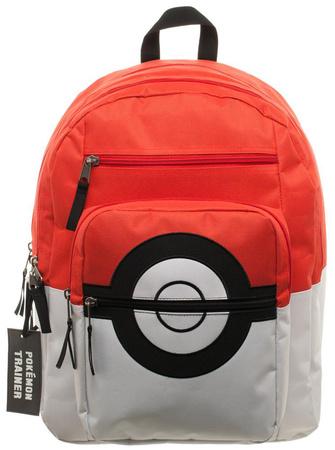 Pokemon Pokeball Backpack with Charm Backpack