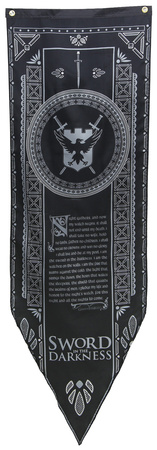 Game of Thrones- Night's Watch Tournament Banner Television Fabric Poster