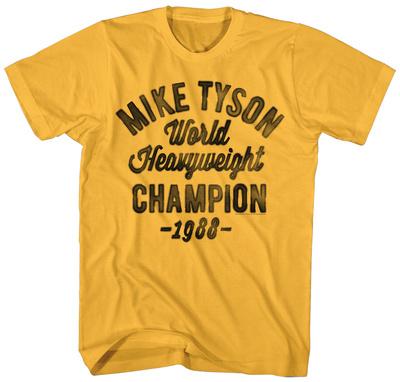 Mike Tyson- '88 Heavyweight Champ Apparel T-Shirt