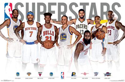 NBA- Superstars Sports Poster
