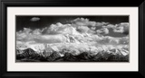 Mt. McKinley Range, Clouds, Denali National Park, Alaska, 1948 Framed Art Print
