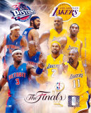 Pistons/Lakers - '04 Match-Up ©Photofile