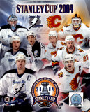 03'/'04 Stanley Cup Flames/Lightning Match-Up Composite ©Photofile
