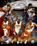 03/'04 Pistons Eastern Conference Champions Composite ©Photofile