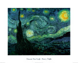 Starry Night, c.1889 Mini Poster
