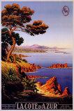 La Cote d'Azur Poster
