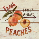 Fresh Peaches Art Print