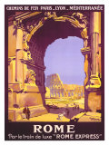 Buy French Railway Travel, Rome Express at AllPosters.com