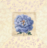 Blue Flower Tapestry I