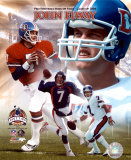 John Elway - Pro Football Hall Of Fame Class of 2004, PF Gold V (Limited Edition) ©Photofile