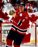 Shane Doan with 2004 World Cup Trophy &copy;Photofile