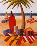 Le marche de la plage