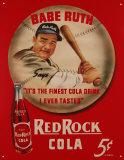 Babe Ruth Red Rock Cola