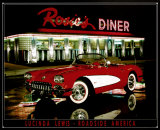 Rosie's Diner Tin Sign