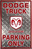Dodge Truck Tin Sign