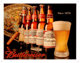Budweiser Since 1876 Tin Sign