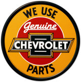 Chevrolet Tin Sign