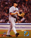 Keith Foulke recording the save, Game 6 - '04  ALCS ©Photofile