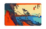 Yui: chemin de Setta avec le mont Fuji