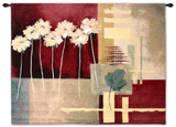 Contemporary Crimson I Wall Tapestry