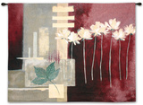Contemporary Crimson II Wall Tapestry