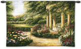 Rose Garden II Wall Tapestry